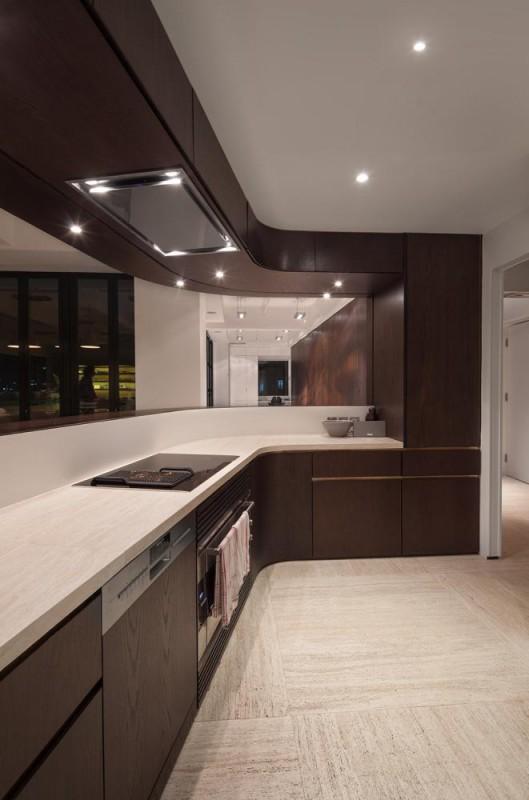 Bar / kitchen, Image Courtesy © Dennis Lo Designs