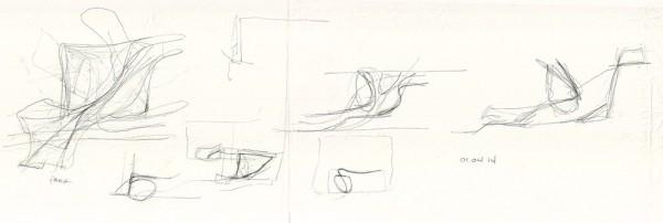 Sketch 01_Atrium as extenstion of park landscape, Image Courtesy © PLUS-SUM Studio