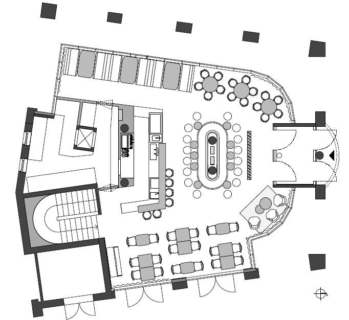 caf pause in ostfildern nellingen germany by ippolito fleitz. Black Bedroom Furniture Sets. Home Design Ideas