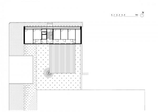 Plan – level 2, Image Courtesy © LABEL ARCHITECTURE