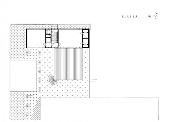 Plan – level 3, Image Courtesy © LABEL ARCHITECTURE