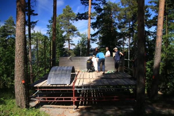 Ring construction, Image Courtesy © Jørgen Watne Frydnes
