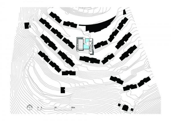 Site plan , Image Courtesy © BCMF Arquitetos / Mach Arquitetos