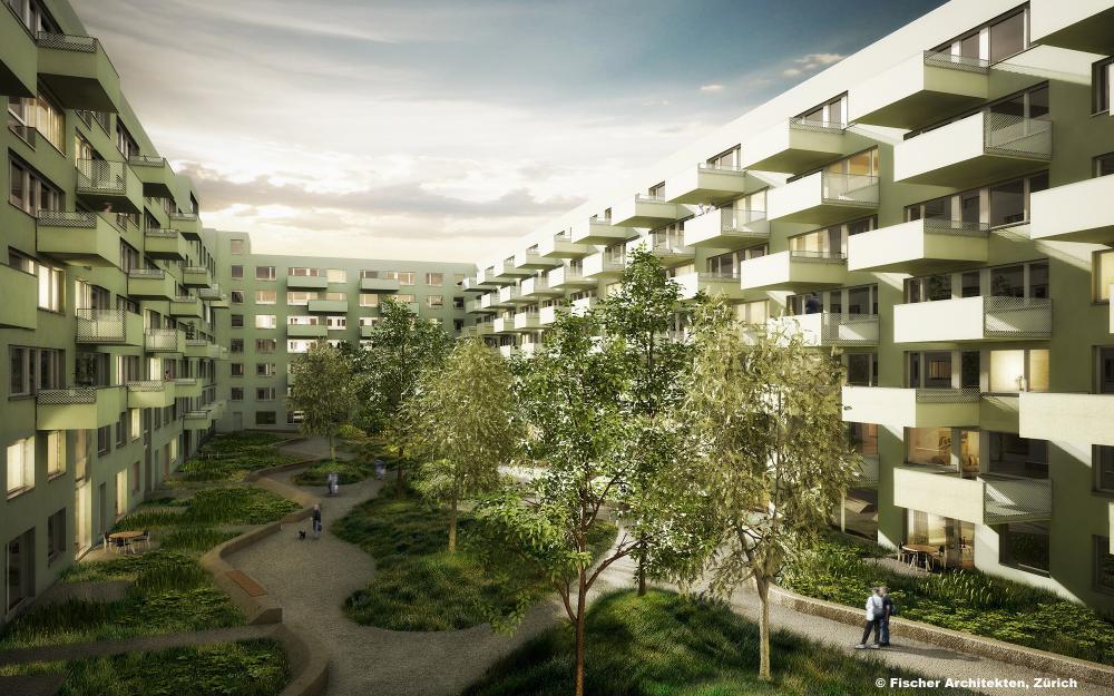 Competition hochbord d bendorf by fischer architekten ag - Fischer architekten ...