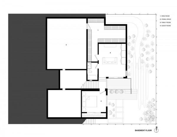 Basement Plan, Image Courtesy © Studio VARA