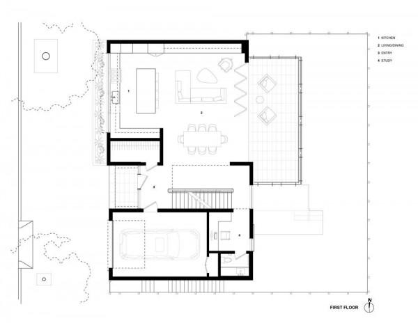 Level 1 Plan, Image Courtesy © Studio VARA