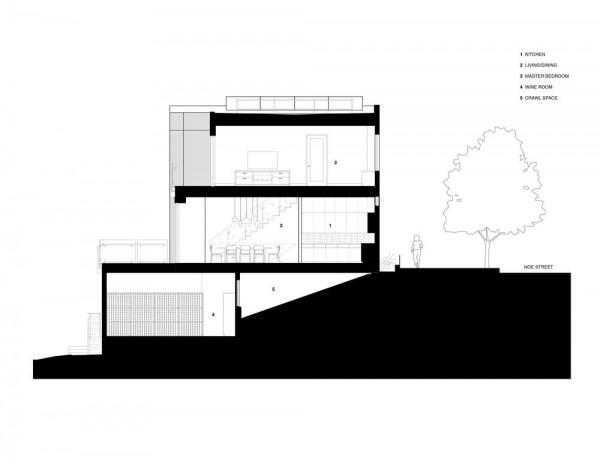 Section, Image Courtesy © Studio VARA