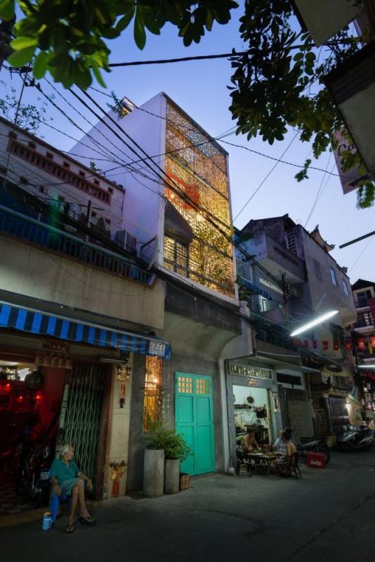 Saigon House by a21 studio, Vietnam, Image Courtesy © a21 studio