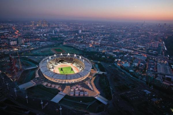 London Olympic Stadium Transformation by Populous, UK, Image Courtesy © Populous
