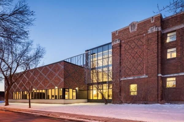 West façade, Image Courtesy © Charles Lanteigne