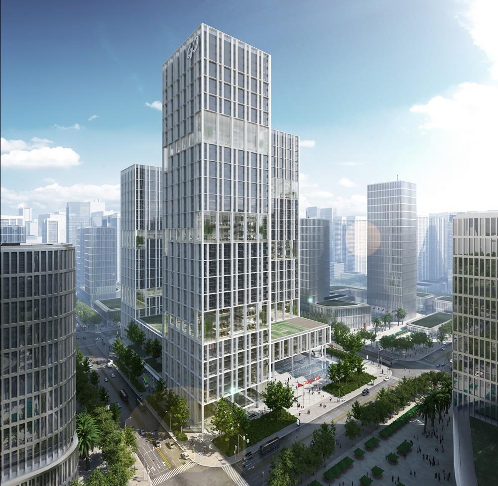 New company headquarters for energy corporation cnpec in - Gmp architektur ...