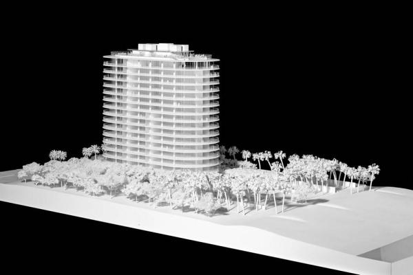 Site model , Image Courtesy © RPBW, ph. Michel Denancé