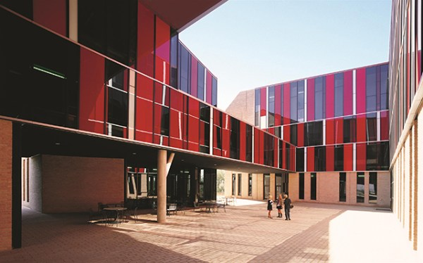 St. Edward's University Dorms, 2008, Austin, Texas, USA. Photo by Cristobal Palma.
