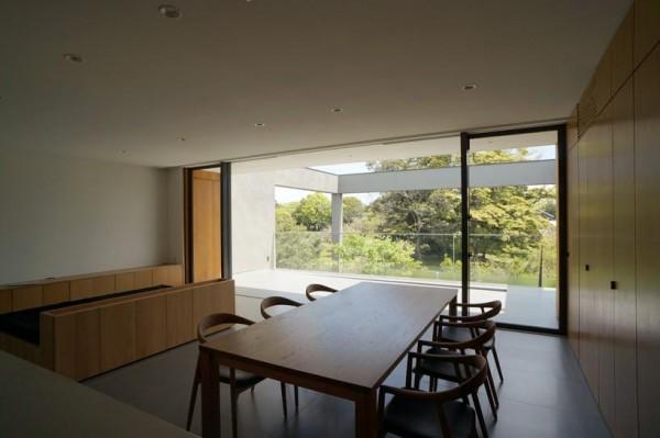 dining room, Image Courtesy © Motoo Nakagawa