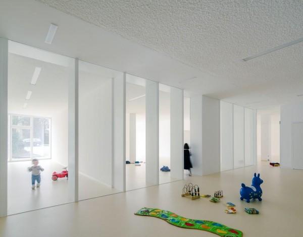 Jan Rösler Architekten aeccafe: kitaf in berlin, germanyjan rÖsler architekten