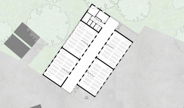 Carshalton boys sports college in london england by fraser for Floor plans brown university