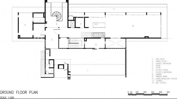 Ground Floor Plan, Image Courtesy © zlgdesign