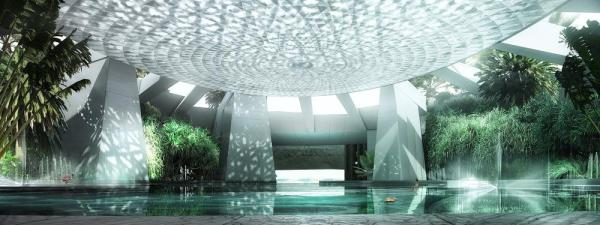 The Oasis, Image Courtesy © Renderings: Luxigon