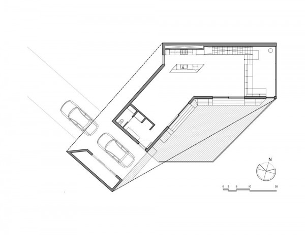 Ground-Floor plan, Image Courtesy © MU Architecture