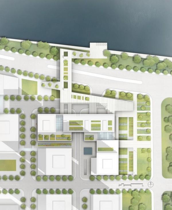 Site plan, Image Courtesy © gmp