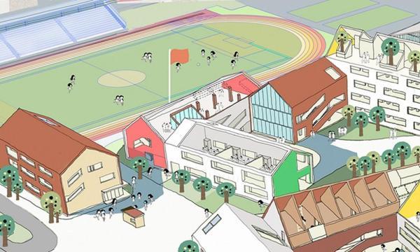 Diagram_Public Activity Space, Image Courtesy © LYCS Architecture