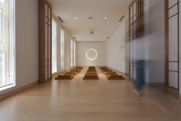 Meditation room, Image Courtesy © Zou Bin