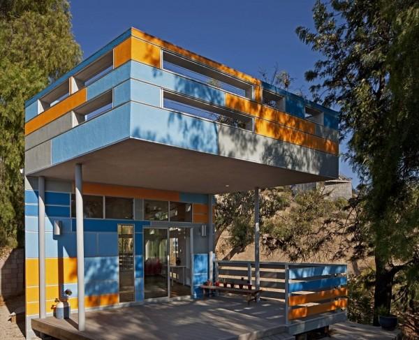 West Facade, Image Courtesy © Jeremy Levine Design