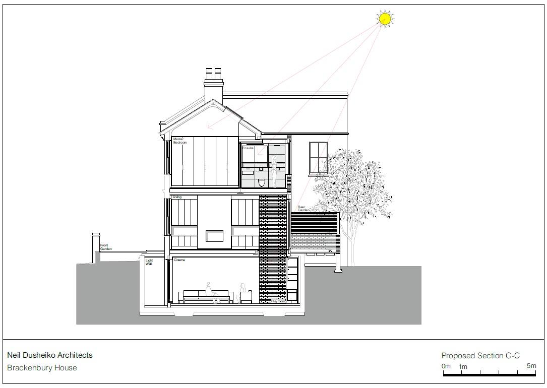 brackenbury house in london england by neil dusheiko architects