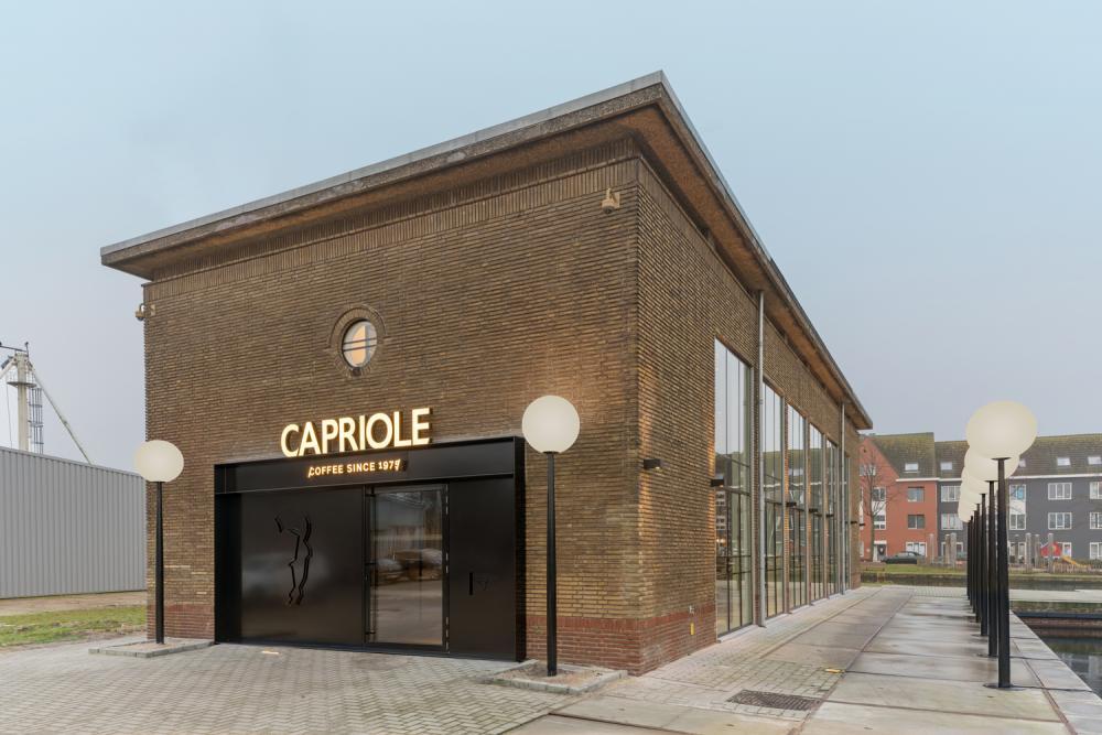 Capriole café in the hague the netherlands by bureau fraai