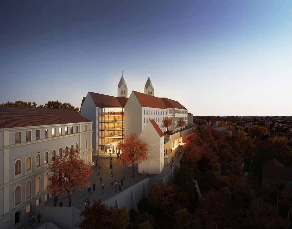 Kardinal-Döpfner-Haus in Freising, Germany by gmp ·