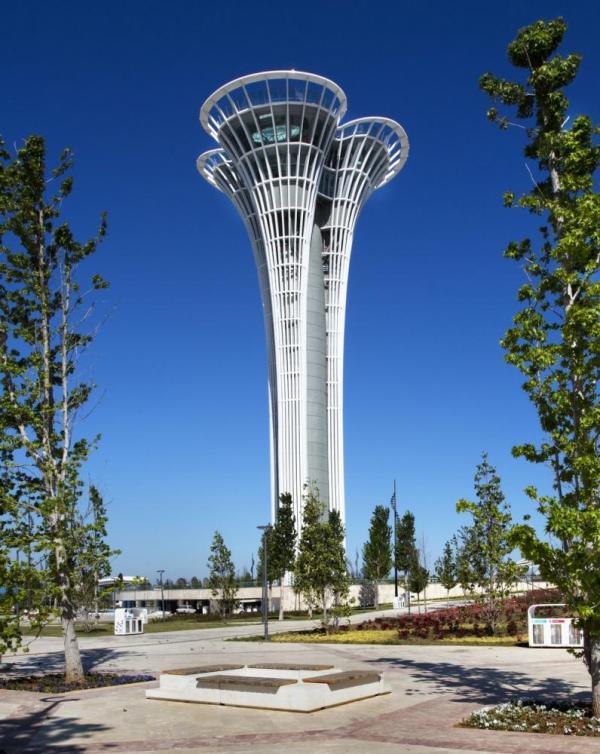 expo  antalya observation tower  turkey  nita architects