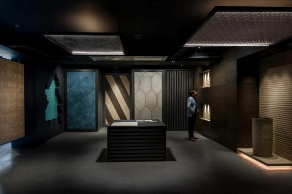 Intersekt Tiles Showroom In New Delhi India By Spaces