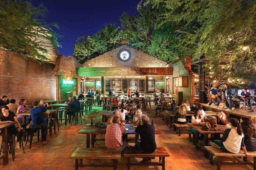 La Ruina Park Bar In Hermosillo Mexico By Tamen Arquitectura