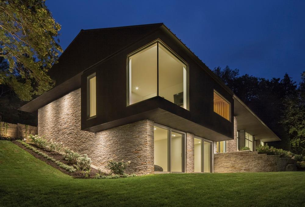 Image courtesy stéphane groleau architects mu architecture project the slender house