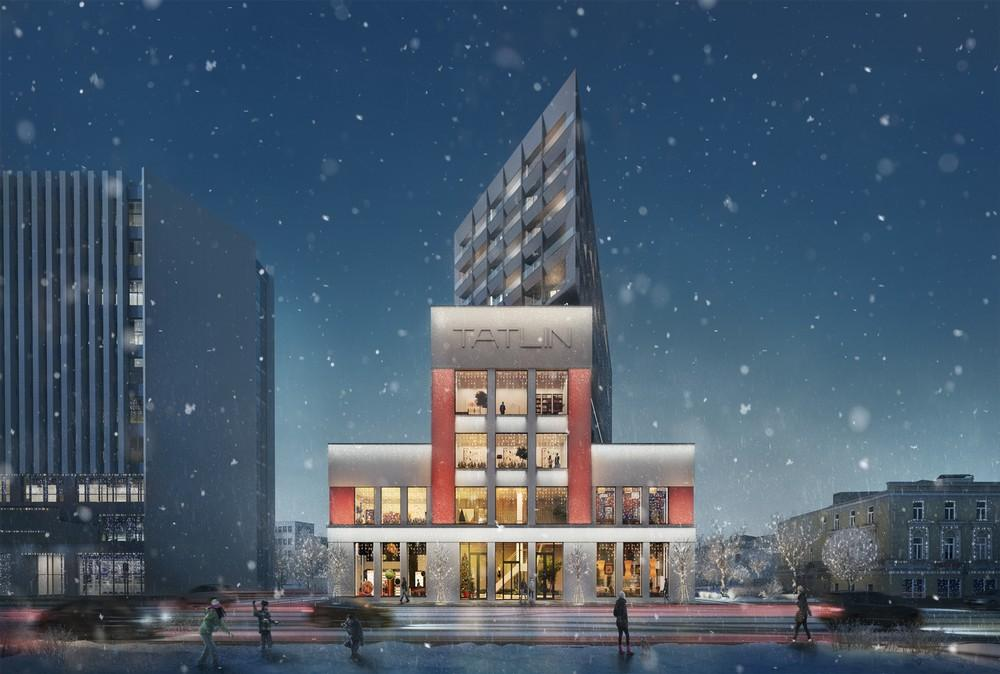 Tatlin Apartments in Moscow, Russia by Architects of Invention