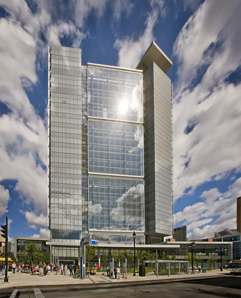 Manitoba Hydro Place in Winnipeg, Canada by KPMB Architects