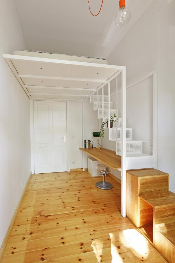 Mezzanine Bedroom Loft Design