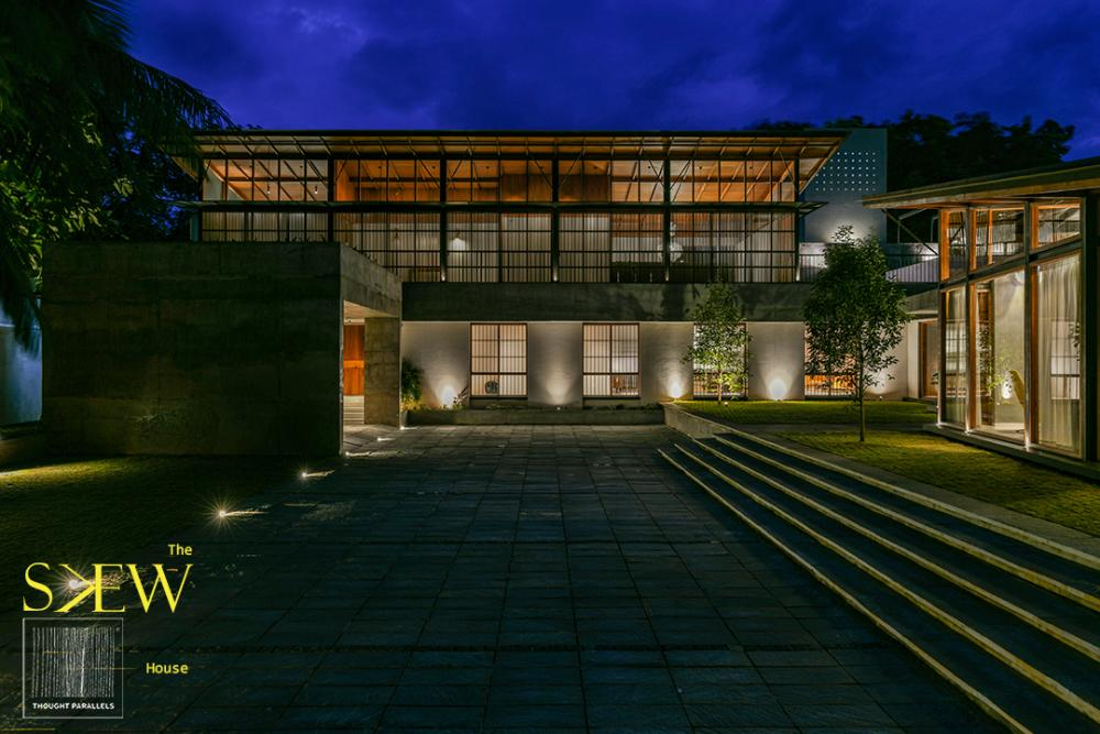 The Skew House In Kerala India By Thought Parallels Architecture
