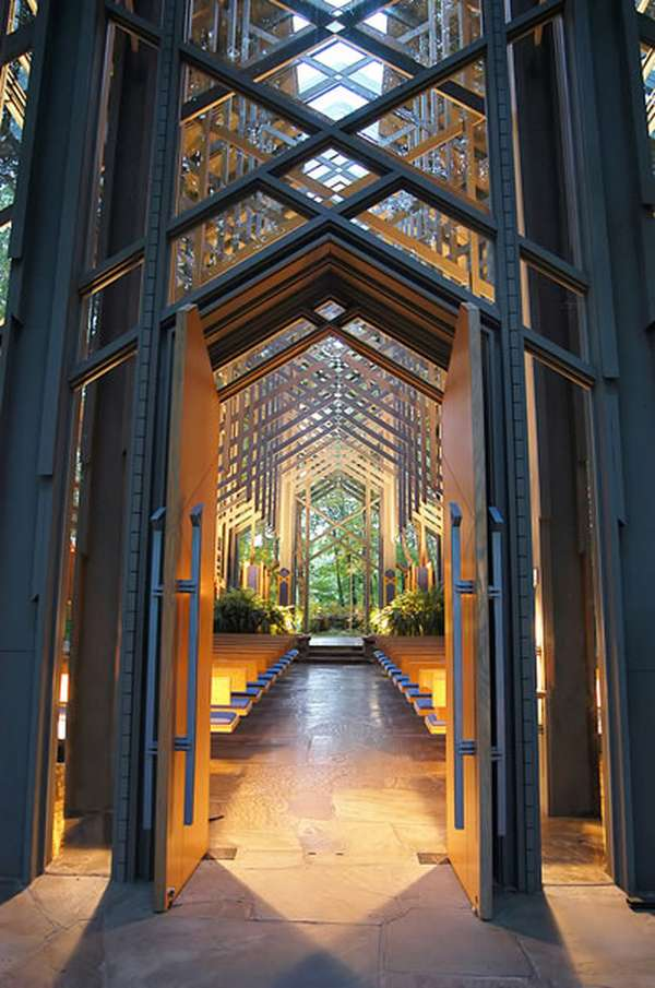 Thorncrown chapel in eureka springs arkansas by e fay jones for E fay jones architecture