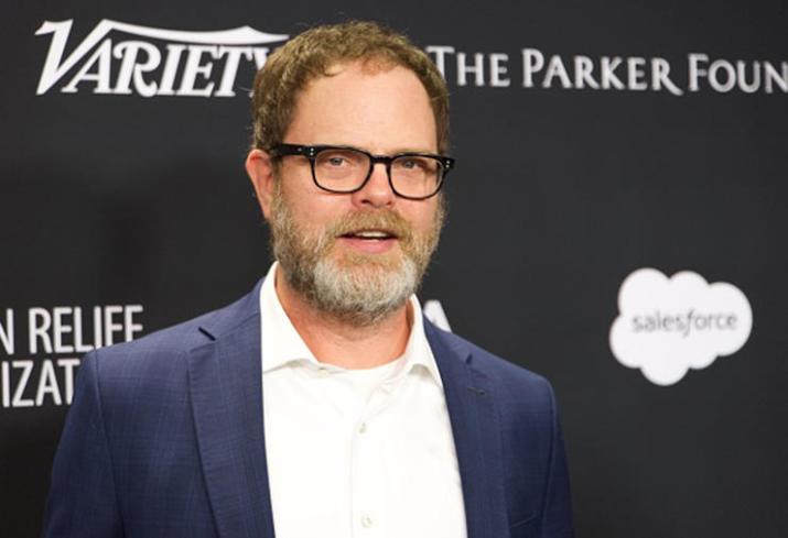 "Rainn Wilson - Filming ""The Meg"" & Getting Called ""Dwight"""