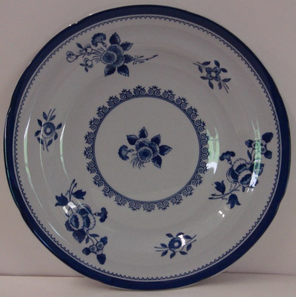 Spode China Gloucester-blue Bread Plate Fine Stone