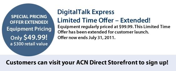 DigitalTalk Express Limited Time Offer