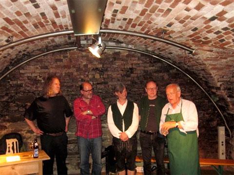Die Interpreten mit Gernot Becwar, Bild: WOCHE