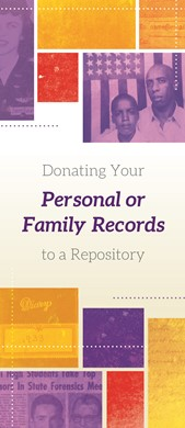 Donating Your Personal Or Family Records To A Repository