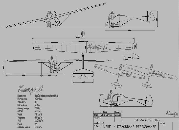 Airchair/Ultralight Gliders