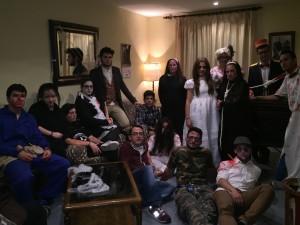 Personajes que habitaban el hotel del terror