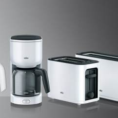 Braun Kitchen Appliances Designer Colors Household German Innovation And Engineering Pureease Collection