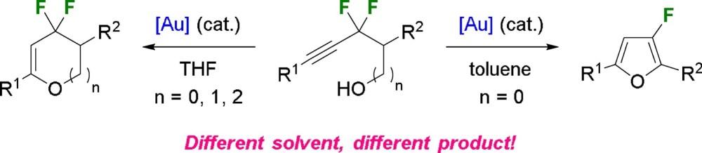 medium resolution of hamel j d paquin j f au catalyzed intramolecular hydroalkoxylation of gem difluorinated alkynols journal of fluorine chemistry 2018 216 11 23