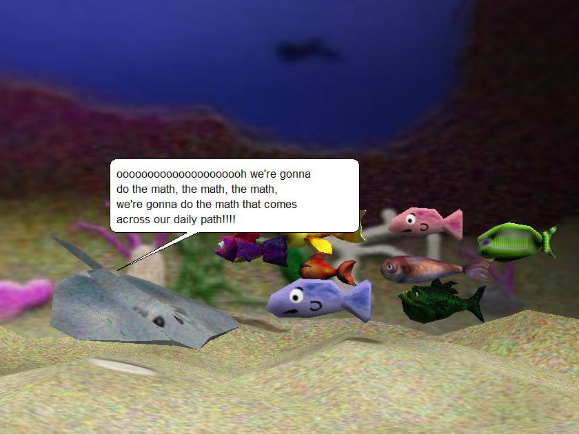 Nemo Learns Math Example World