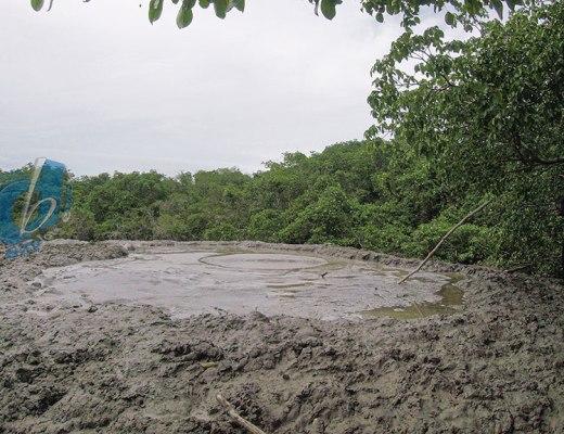 Los Iros Mud Volcano